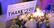 Thank you note for the wedding guests