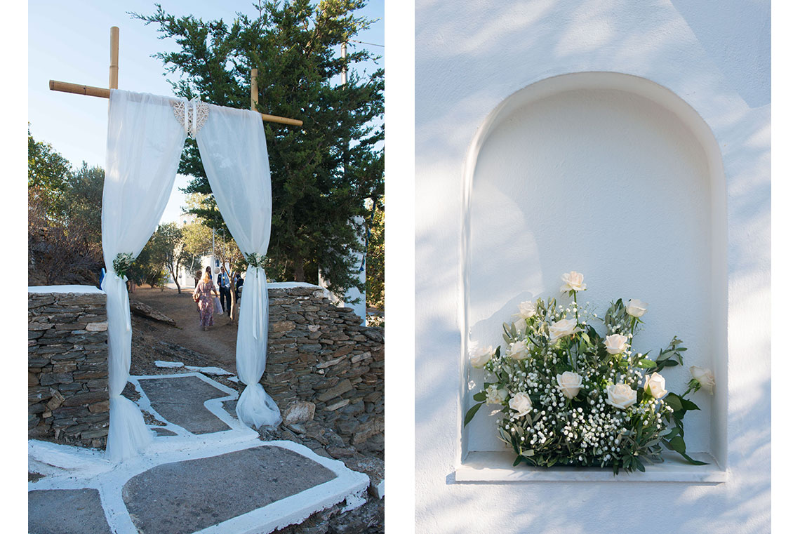 Vintage wedding in Sifnos