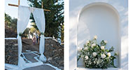 Romantic wedding at Sifnos